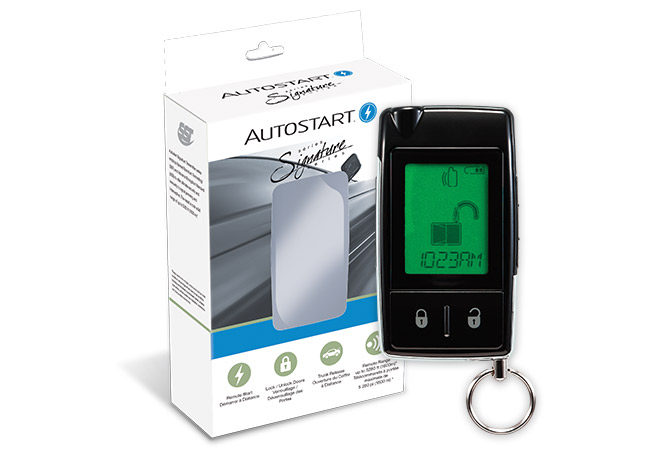 Autostart Digital LCD 2-Way