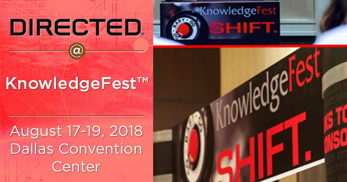 Directed Exhibiting and Training at Knowledgefest