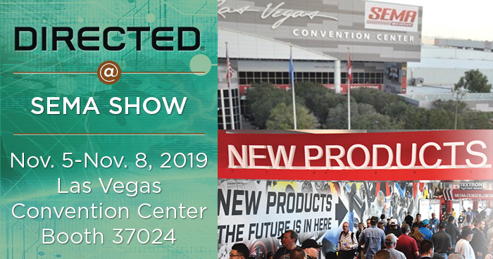 Directed Returns to SEMA Show Highlighting Innovative Products