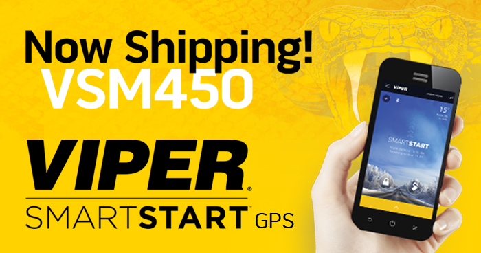 Now Shipping Viper SmartStart VSM450